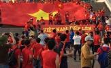 Sắc đỏ U20 Việt Nam tung bay sân chơi U20 World Cup