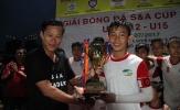 Giải bóng đá S&A 2017: Văn Tâm Đồng Nai lập cú đúp vô địch