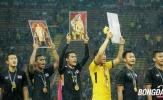 Chùm ảnh: Niềm vui của người Thái bảo vệ thành công ngôi vô địch