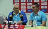 HLV Ljubo Petrovic khoan hãy nói đến ngôi vô địch