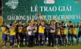 Giải vô địch bóng đá TP.HCM 2017: Hoàng Sang FC lên ngôi vô địch