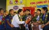 Ông Chung hái quả ngọt đầu tiên cùng bóng đá trẻ HAGL