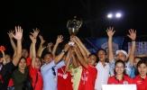 Bế mạc giải bóng đá Thanh Hóa miền Nam 2017: Triệu Sơn FC lên ngôi vô địch