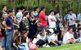 TP.HCM 2-2 SHB Đà Nẵng: Fan Sài thành 'săn' Đức Chinh, Tiến Dụng