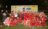 Toàn thắng giải U19 Quốc tế, Việt Nam đăng quang ngôi vô địch