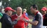 Ban huấn luyện hài lòng về sân tập của U23 Việt Nam tại ASIAD 2018