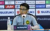 """HLV Tan Cheng Hoe: """"Chúng tôi muốn chơi tấn công trước ĐT Việt Nam"""""""
