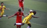 Chùm ảnh: U22 Việt Nam cưa điểm cùng Sài Gòn FC