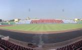 Sân Việt Trì gấp rút chuẩn bị công tác trận U23 Việt Nam gặp U23 Myanmar