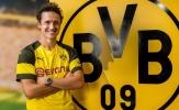 CHÍNH THỨC: Dortmund chiêu mộ thành công tiền vệ trụ từng ghi hat-trick