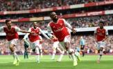 Song sát tỏa sáng, Arsenal làm nên lịch sử trên sân nhà