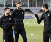 Dàn sao Barca cười thả ga, tự tin trước đại chiến với Valencia