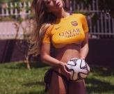 Livia Gullo - Fan cuồng Barcelona chính hiệu!