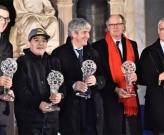 Chùm ảnh: Maradona và Ranieri giành giải thưởng 'huyền thoại' tại Italia