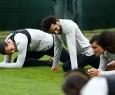 Salah luyện 'chống đẩy' trước giờ gặp đội bóng cũ