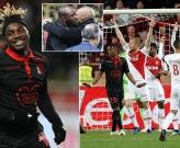 Henry đại chiến Vieira trên ghế chỉ đạo, AS Monaco tiếp tục có điểm