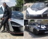 Cristiano Ronaldo tạo dáng bên siêu xe 750 nghìn bảng