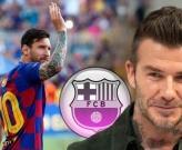 David Beckham bước đầu tiến hành chiêu mộ Lionel Messi