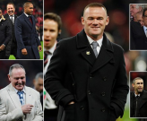 Rooney và những huyền thoại Tam Sư xuất hiện tại SVĐ Wembley