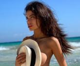 Ngắm Sara Soldati - Nàng siêu mẫu nóng bỏng mê Juventus