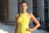 Irina Shayk quyến rũ với đầm vàng