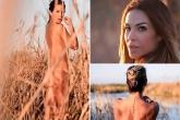 Vợ cựu ngôi sao Real Madrid tung ảnh nude gợi cảm