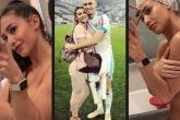 Vợ sao Marseille bị phát tán ảnh nóng, lộ đường cong 'đốt mắt'
