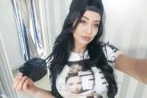 Lorena de Souza - Siêu mẫu ngực khủng yêu say đắm sao Real