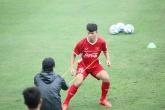 Tân binh ĐT Việt Nam quyết tâm ghi điểm trong mắt thầy Park