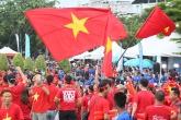 Không khí rộn ràng, ĐT Việt Nam sẵn sàng chiến tuyển Thái Lan