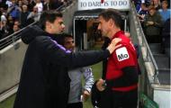 HLV Pochettino thân thiện với 'kẻ thù cũ' sau màn đấu trí trên chấm 11m