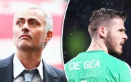 De Gea đang dần 'lụi tàn' dưới bàn tay Mourinho?
