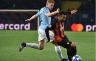 Chấm điểm Man City trận Shakhtar Donetsk: Đêm tuyệt hảo của D.Silva!
