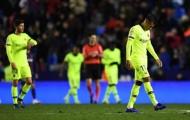 Thiếu tôn trọng đối thủ, Barcelona bị 'dằn mặt' trước Levante