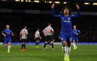 Dứt điểm đẳng cấp, Willian giúp Chelsea 'bỏ rơi' Arsenal với cách biệt 6 điểm
