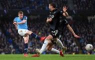 Sút xa sấm sét, kiến tạo tuyệt vời; De Bruyne giúp Man City 'bắn hạ' Burnley
