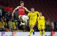 Arsenal đón 1 vui 1 buồn sau trận đấu với BATE Borisov