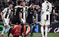 Điềm báo này đã dự đoán Juventus thất bại trước Ajax?