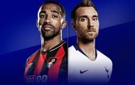 Nhận định Bournemouth vs Tottenham: Chiến thắng cách biệt 2 bàn cho Gà trống?