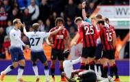 Son Heung-min dính thẻ đỏ, Tottenham thua sốc trước Bournemouth