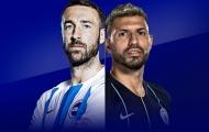 Nhận định Brighton vs Man City: Aguero ghi bàn và chiến thắng 2 sao?