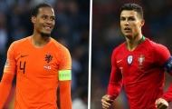 Van Dijk vs Ronaldo: Lá chắn thép và họng pháo hạng nặng