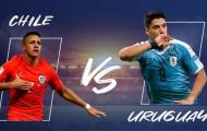 Nhận định Chile vs Uruguay: Kịch tính và kết quả hòa cho cả 2?