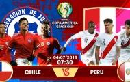 Nhận định Chile vs Peru: Chiến thắng tối thiểu cho nhà ĐKVĐ?
