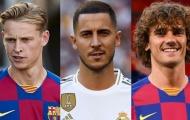 Barcelona, Real Madrid đang 'khủng bố' TTCN hè 2019