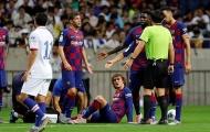 Griezmann nằm sân sau pha vào bóng nguy hiểm của Jorginho