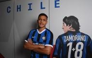 'Bom xịt' Man Utd rạng rỡ trong buổi lễ ra mắt Inter Milan