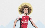 Matteo Guendouzi là 'chìa khóa' giúp Arsenal cầm hòa Tottenham