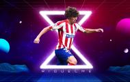 Rodrigo Riquelme và 'báu vật' tiếp theo được Atletico Madrid trình làng