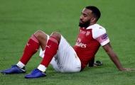 Đại diện Lacazette tiết lộ tin tức 'hú hồn' cho fan Arsenal